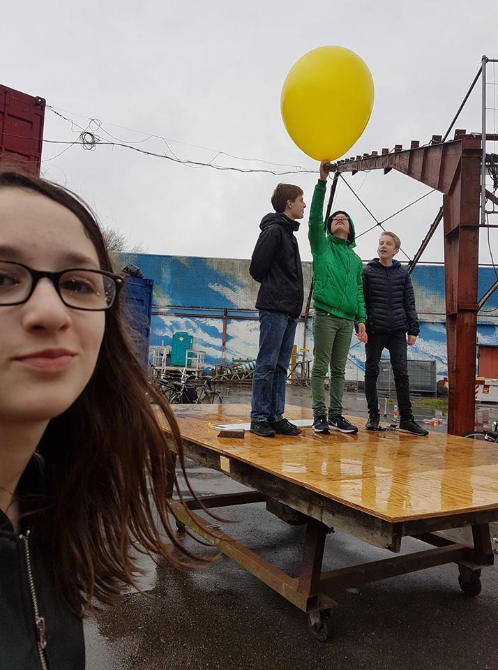 Balloons Up! April 2017