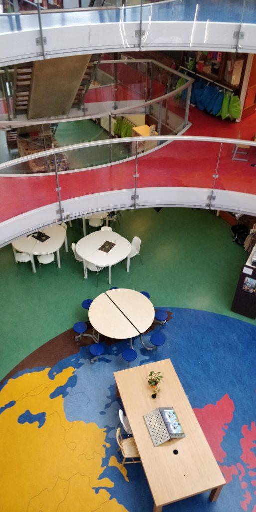 De open indeling bij Kindcentrum Atalanta