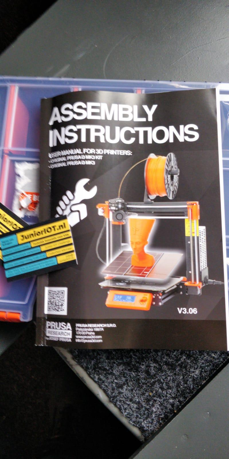 Arduino programmeren en een nieuwe 3D printer op een super zaterdaginloop 12 januari
