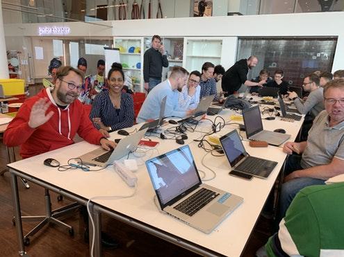 WeMakeThe.City, Family day & workshops with Sensemakers, JuniorIOT.nl & OBA – zondag 23 juni 2019