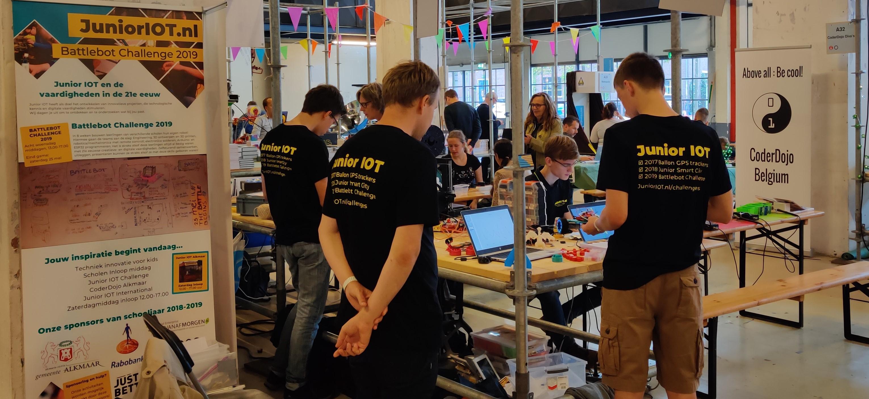 Stichting Junior IOT gaat naar de Eindhoven Maker Faire 2019!