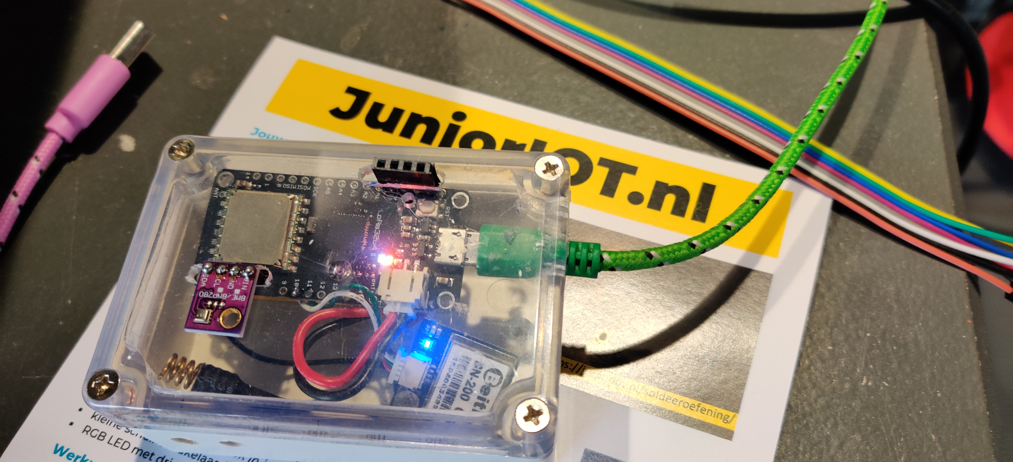 Lessenserie – IOT – Arduino GPS Tracker op TTN