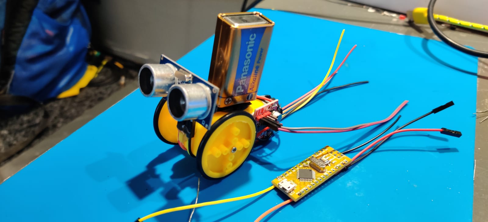Lab – Arduino Volgmotor