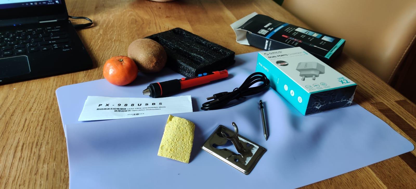 Shop – Junior IOT online – Soldeerwerkplek USB 10W instelbaar