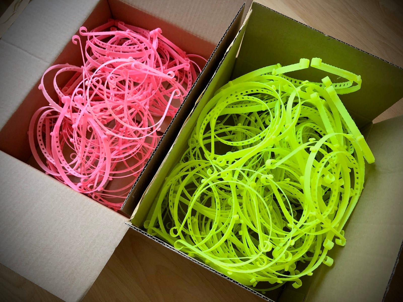 3D printen voor Junior IOT tegen Corona