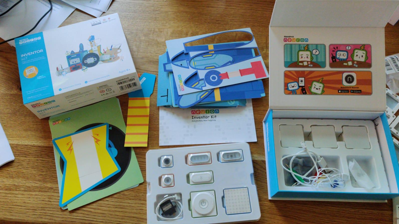 Lab – Makeblock Neuron Inventor Kit – ontdekken en programmeren van sensors en robots