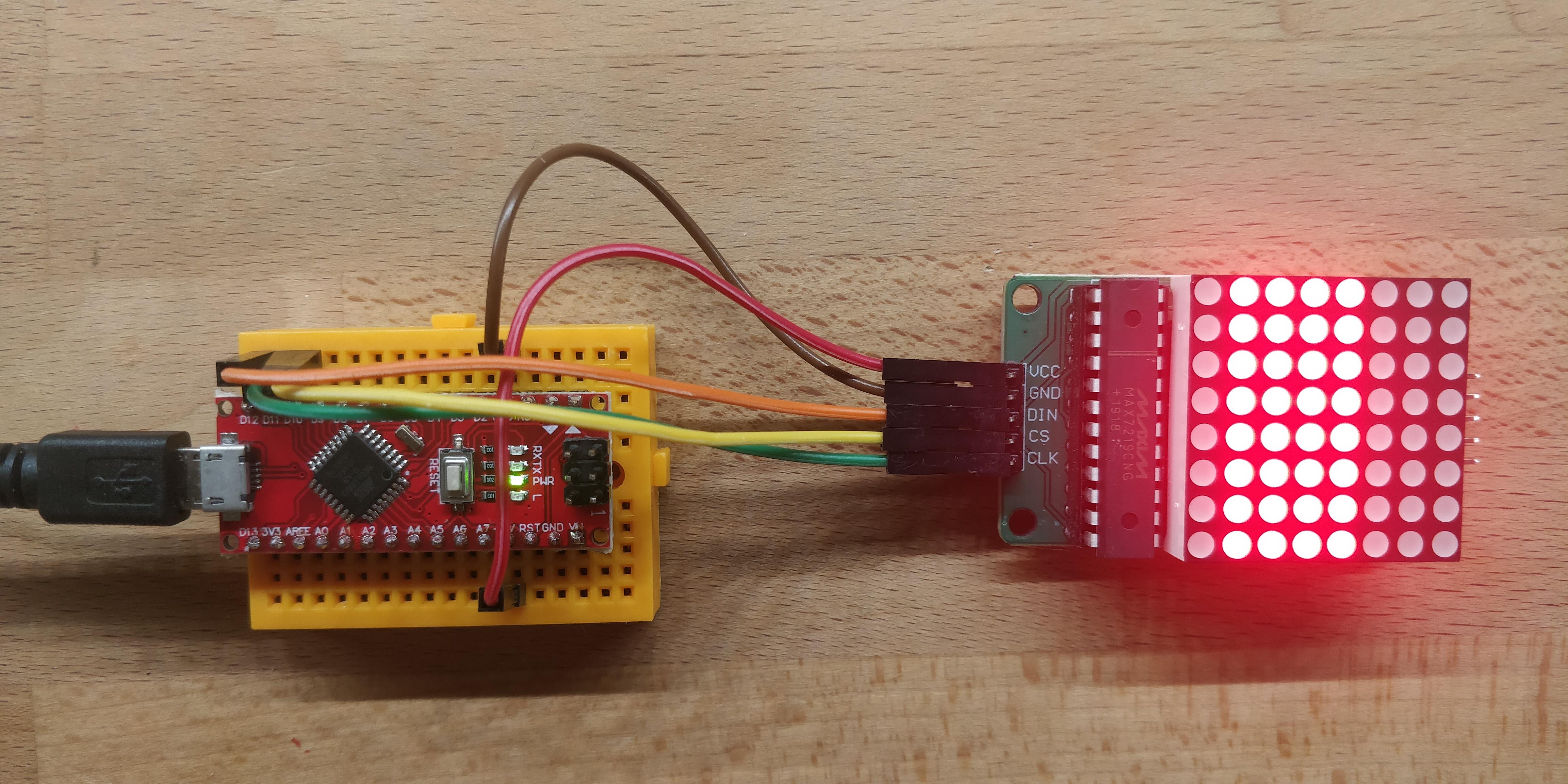 Lab – Bits en bytes met een ledmatrix