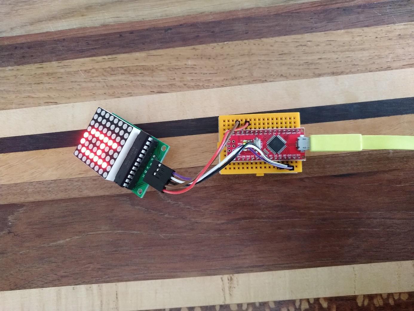 Lab – Arduino Ledmatrix Lichtkrant