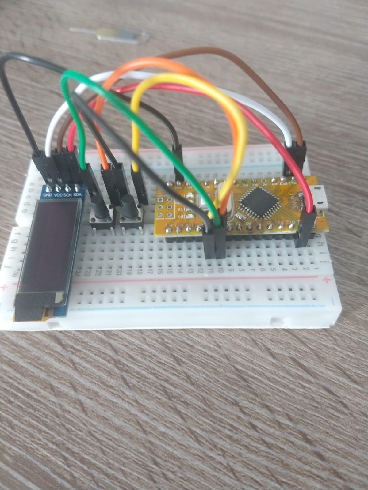 Verslag – Pong op je arduino Nano, met een Oled