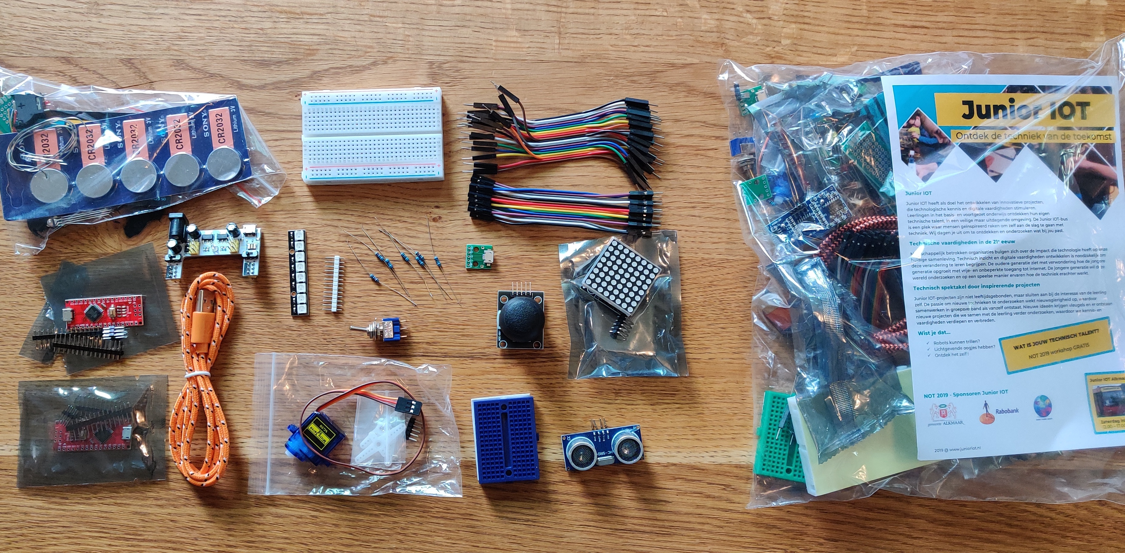 Shop – Startset Arduino Nano Bag-of-Fun – electronica starter kit