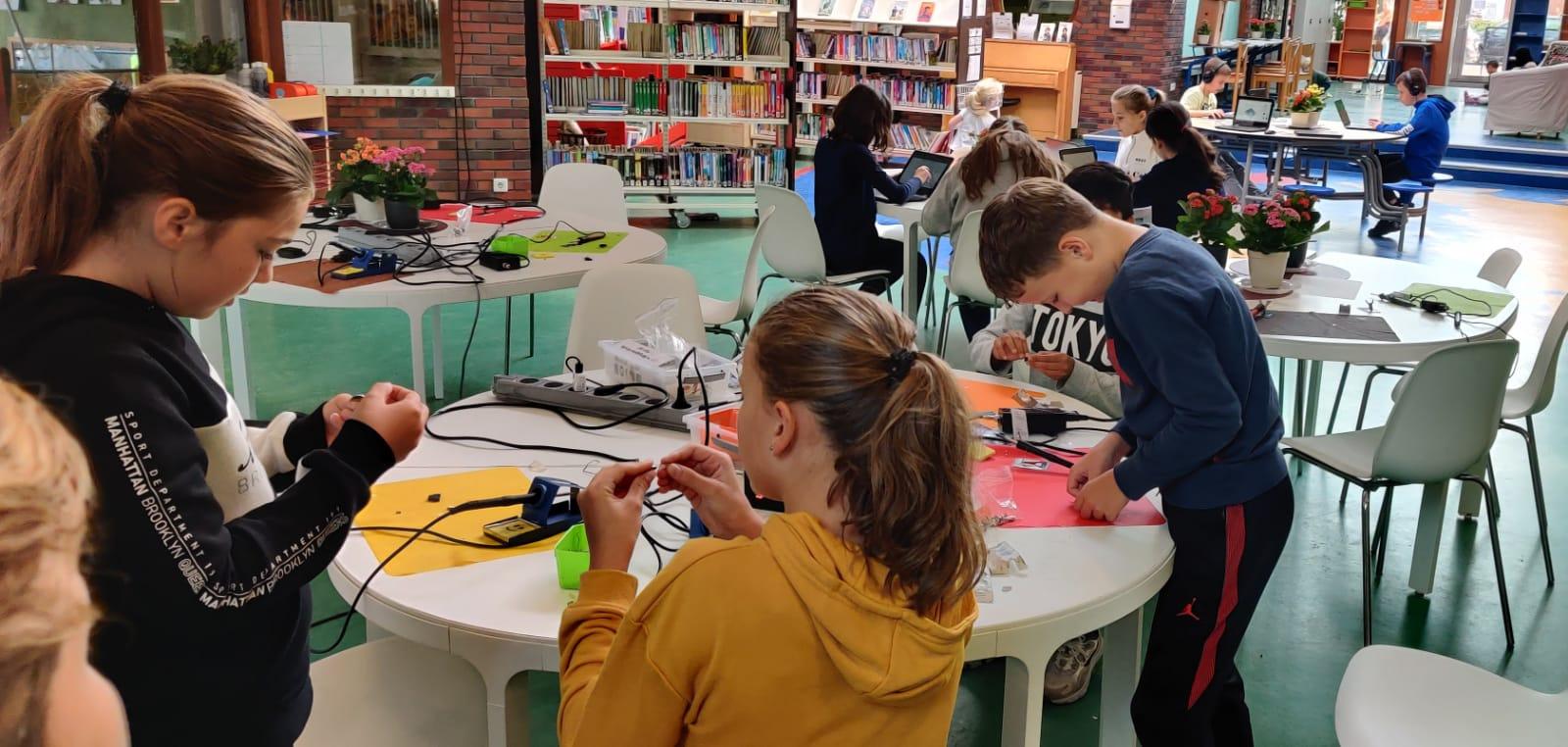 Plan – In je kracht met Junior IOT technologie op basisschool Atalanta in schooljaar 2021/2022