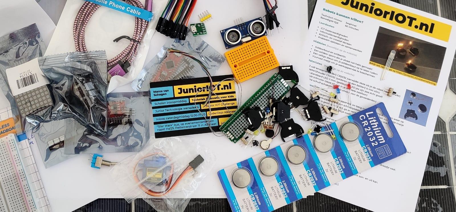 Shop – Arduino Nano startset Bag of Fun