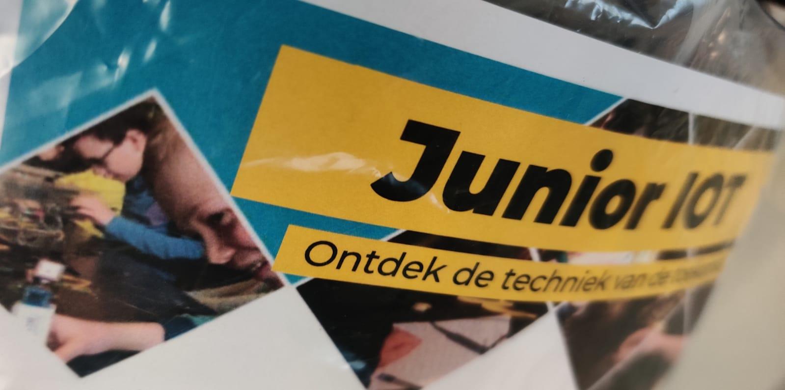 Start – Beginnen met Junior IOT – Solderen, programmeren, electronica en nog veel meer