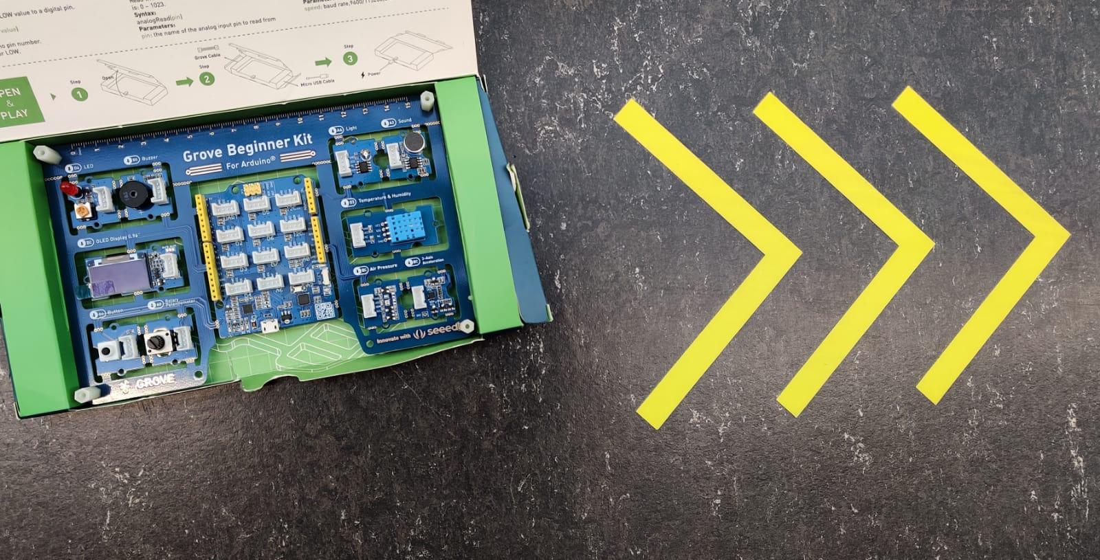 Ondersteuning – Grove Beginner Kit for Arduino