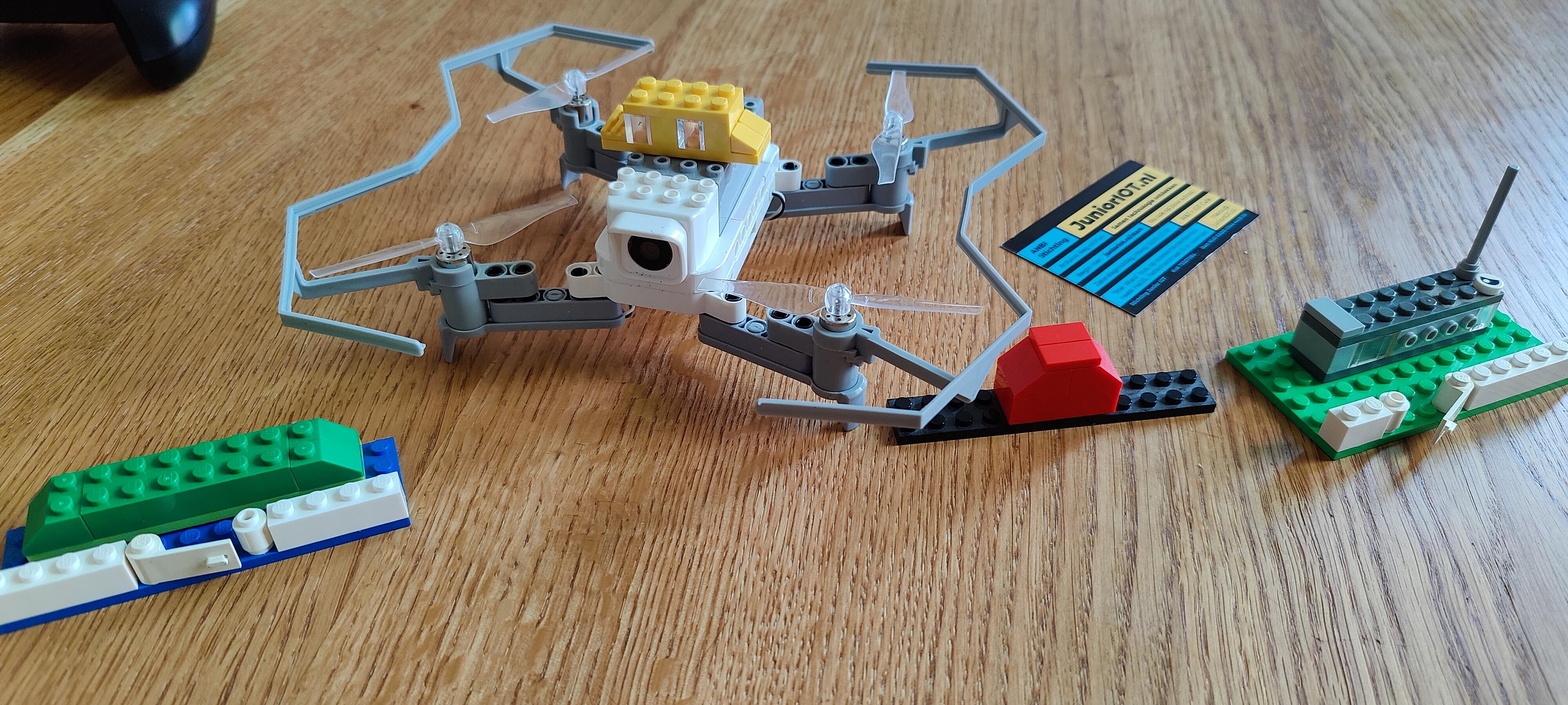 Lab – aan de slag met de Lego-compatible Litebee Drone