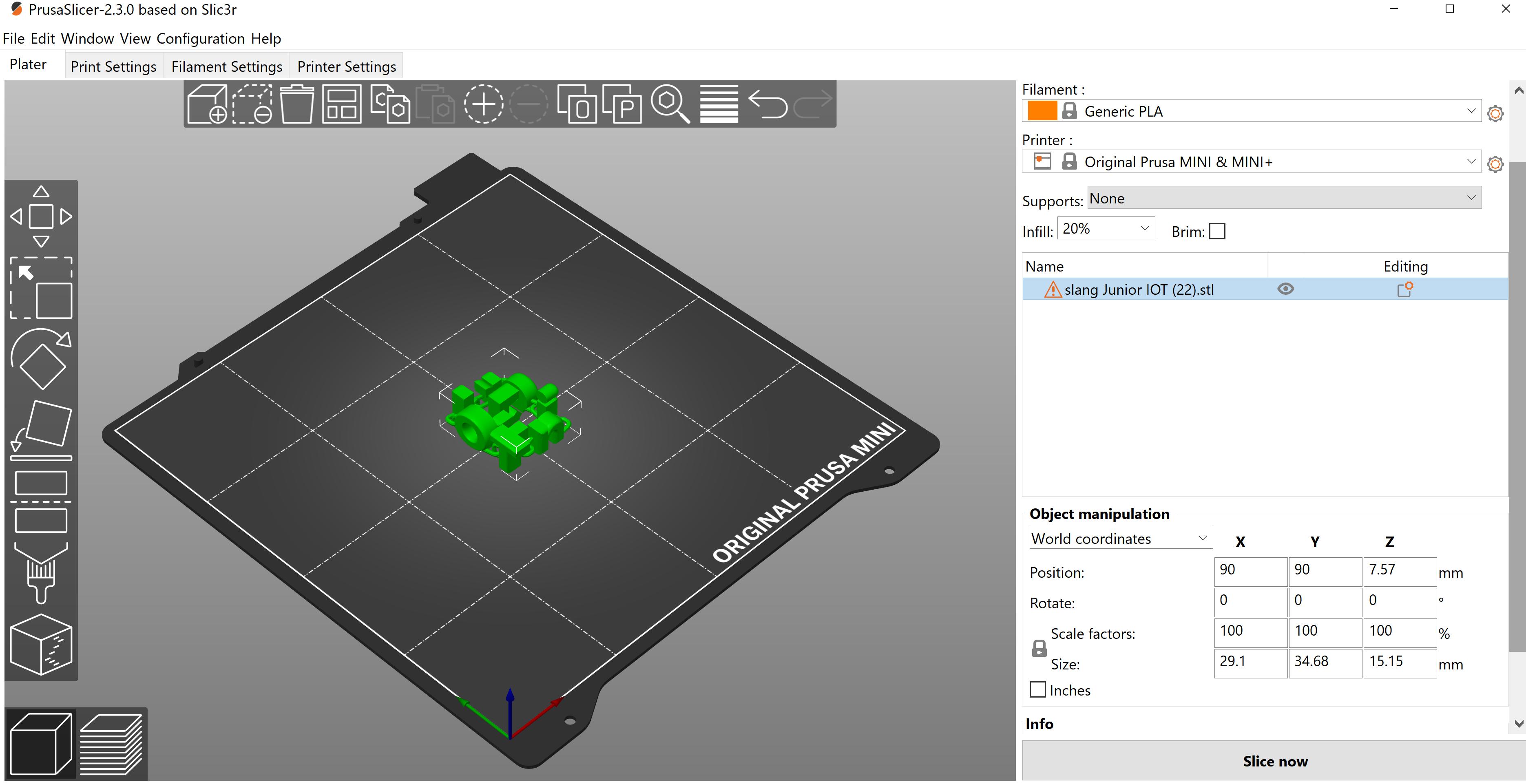 Van TinkerCad naar de 3D Printer